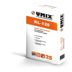 Плиточный клей UMIX KL-125