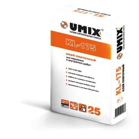 Морозоустойчивый плиточный клей UMIX KL-175