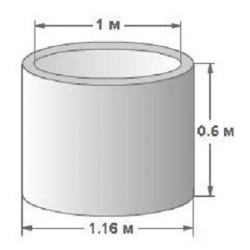 Колодезное кольцо КС-10-6