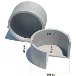 Кольцо для септика с дном КЦД-15-9