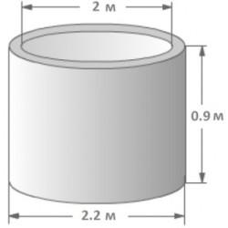 Кольцо колодезное КЦД-20-9
